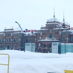 Ж/д вокзал Казани 2