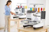 Промышленные вышивальные машины: критерии выбора