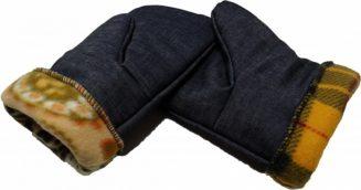 Ватные рукавицы для работы в тепле и холоде