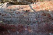 Наскальные рисунки ледникового периода обнаружены в Колумбии