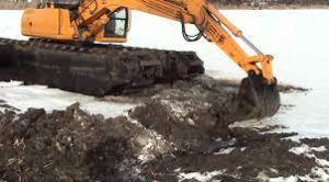 Земляные работы в зимний период